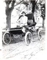 Dr. Wilson - Brownstown, IN, in the early 1900s - from Jackson County Historical Society