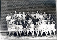 Sparksvillle, 3rd School, Rm II, 1945-46. - from Paul Carr, bw 6.47x4.55