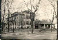 Schneck Memorial Hospital - from the Seymour Tribune, bw 7.05x4.91