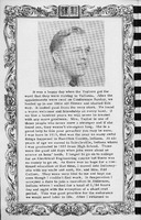 Picture and story of Pastor C.W. Taylor. Vallonia Methodist Church Messenger of 1950.  - from Fort Vallonia Museum, 5.27x8.21 bw