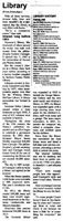 Article published in the January 20, 2015, Brownstown Banner covering the library's years of service