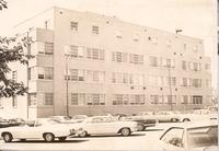 Jackson County Hosp So. Walnut St - from the Seymour Tribune, bw 6.69x4.81